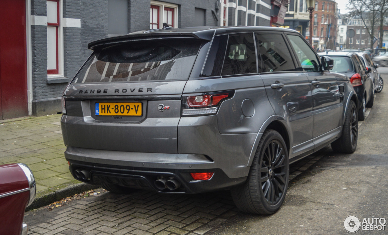 land rover range rover sport svr 23 january 2016 autogespot. Black Bedroom Furniture Sets. Home Design Ideas