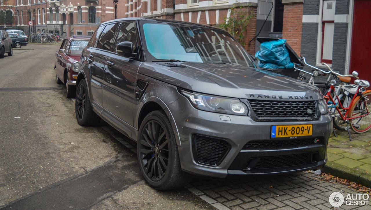 Land Rover Range Rover Sport SVR - 23 January 2016 ...