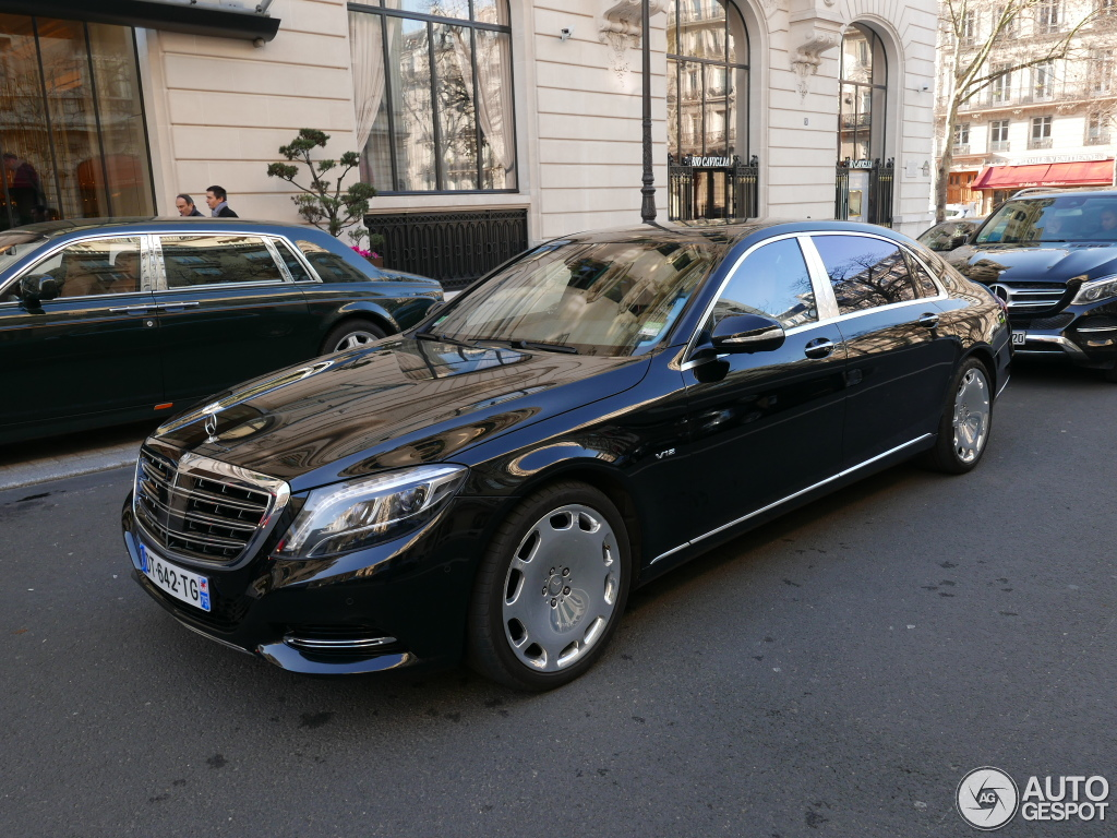 mercedes maybach s600 23 janvier 2016 autogespot. Black Bedroom Furniture Sets. Home Design Ideas