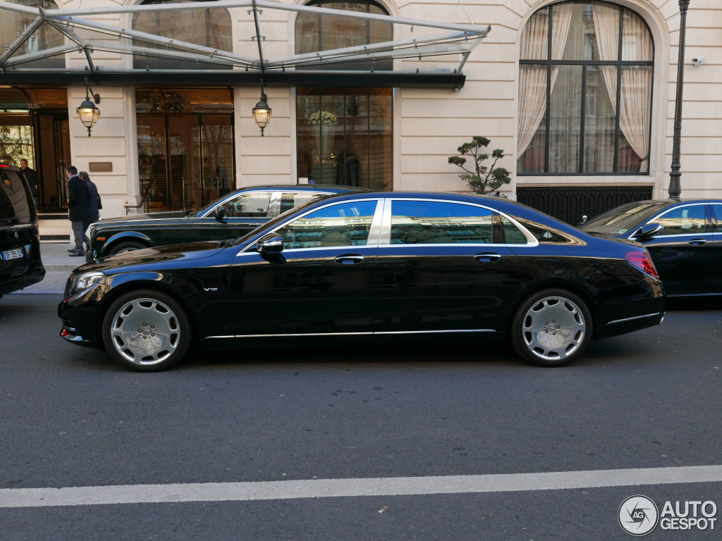 Mercedes maybach s600 23 january 2016 autogespot for 2008 mercedes benz s600 for sale