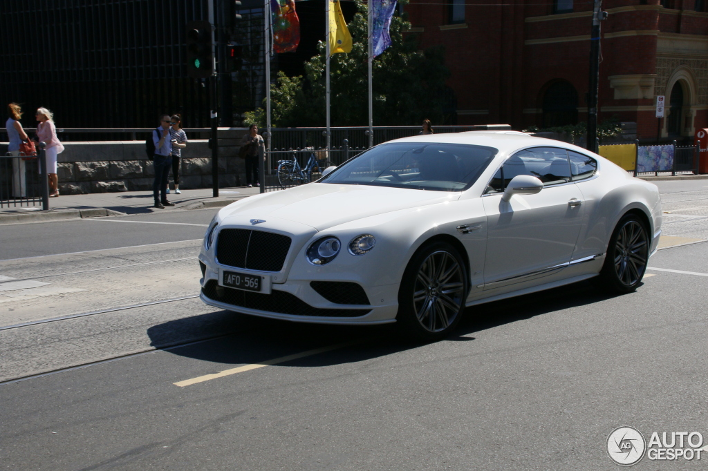 bentley continental gt speed 2016 24 january 2016 autogespot. Black Bedroom Furniture Sets. Home Design Ideas