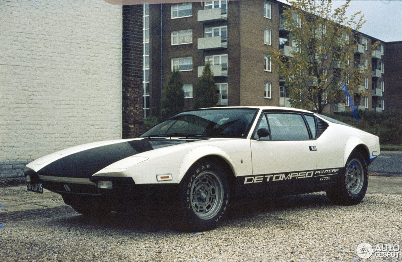 de tomaso pantera gts 24 january 2016 autogespot. Black Bedroom Furniture Sets. Home Design Ideas