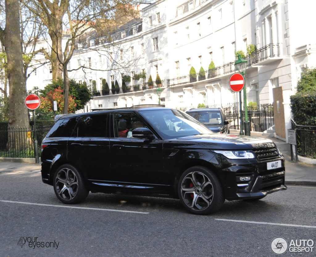 land rover overfinch range rover sport autobiography 2014 24 january 2016 autogespot. Black Bedroom Furniture Sets. Home Design Ideas