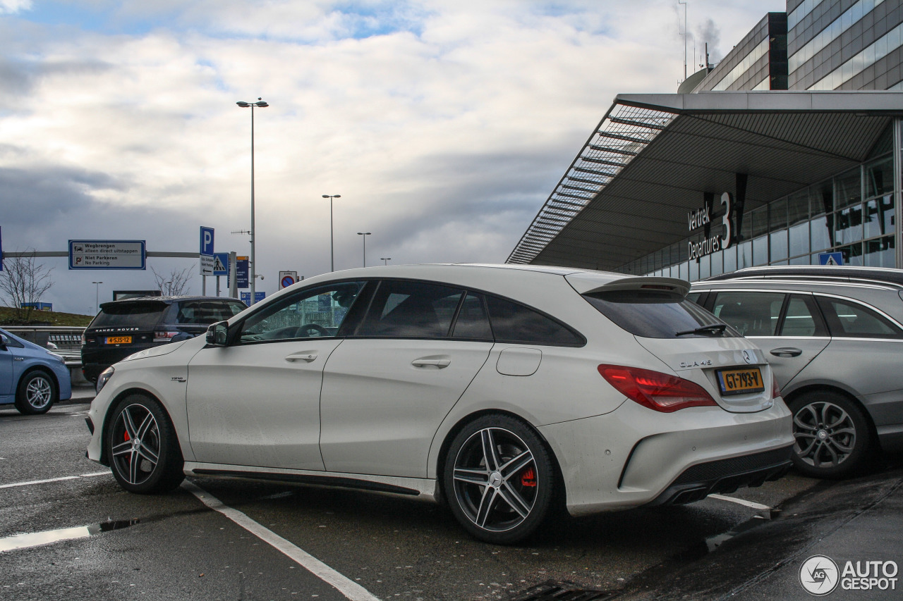 mercedes benz cla 45 amg shooting brake 24 january 2016 autogespot. Black Bedroom Furniture Sets. Home Design Ideas