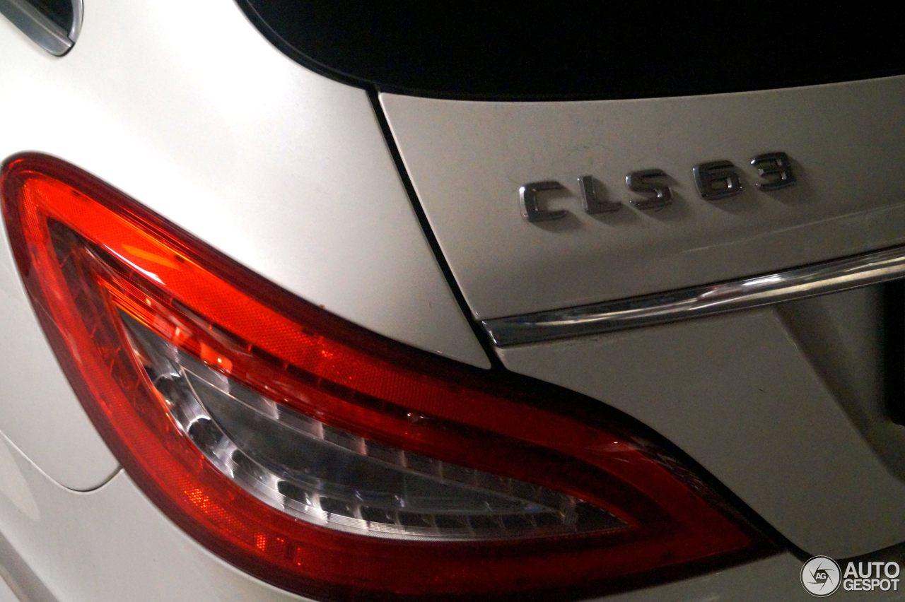 Mercedes-Benz CLS 63 AMG X218 Shooting Brake 5