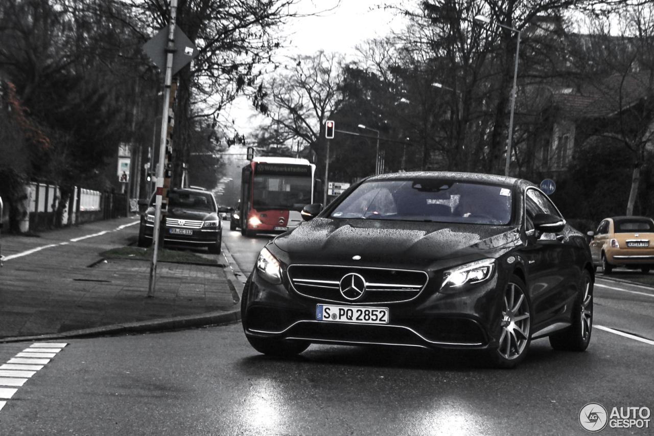 Mercedes-Benz S 63 AMG Coupé C217 1