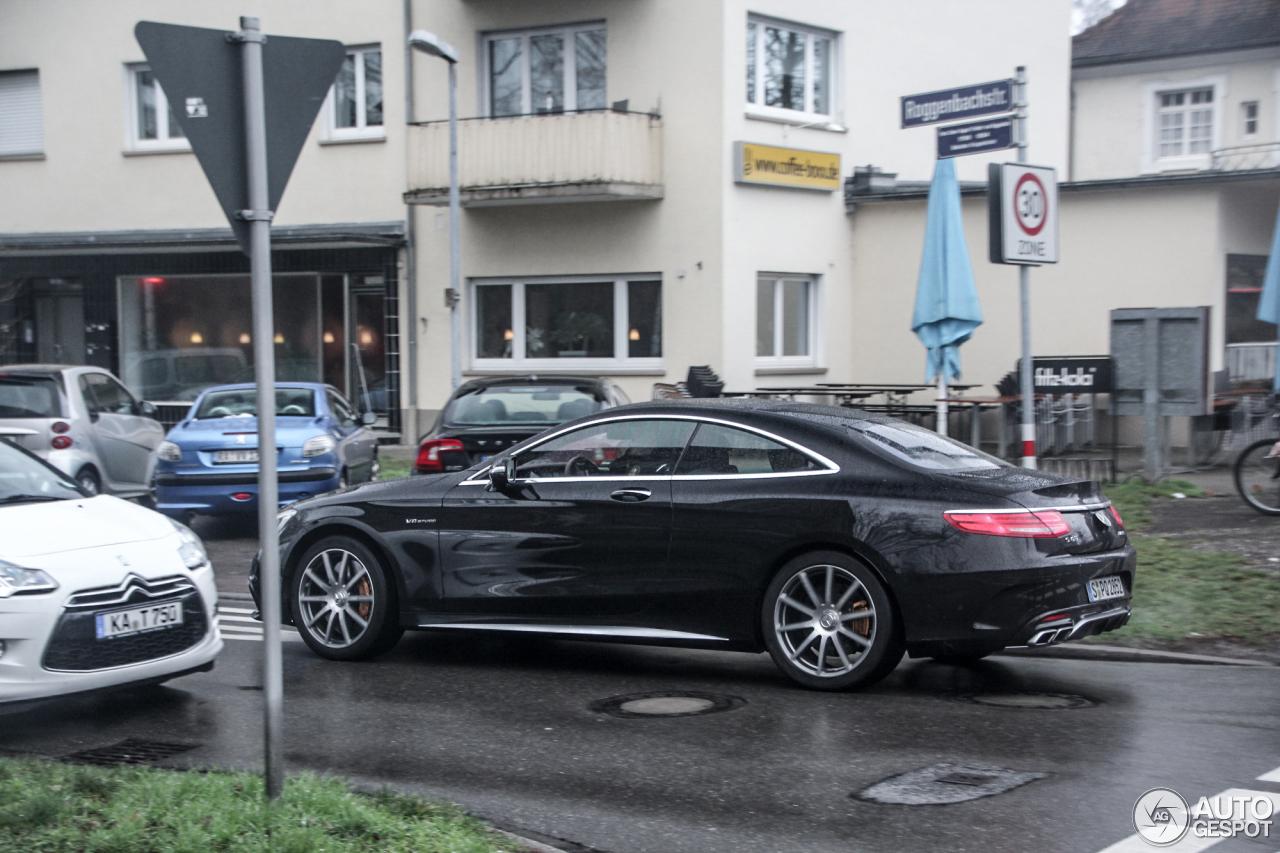 Mercedes-Benz S 63 AMG Coupé C217 5