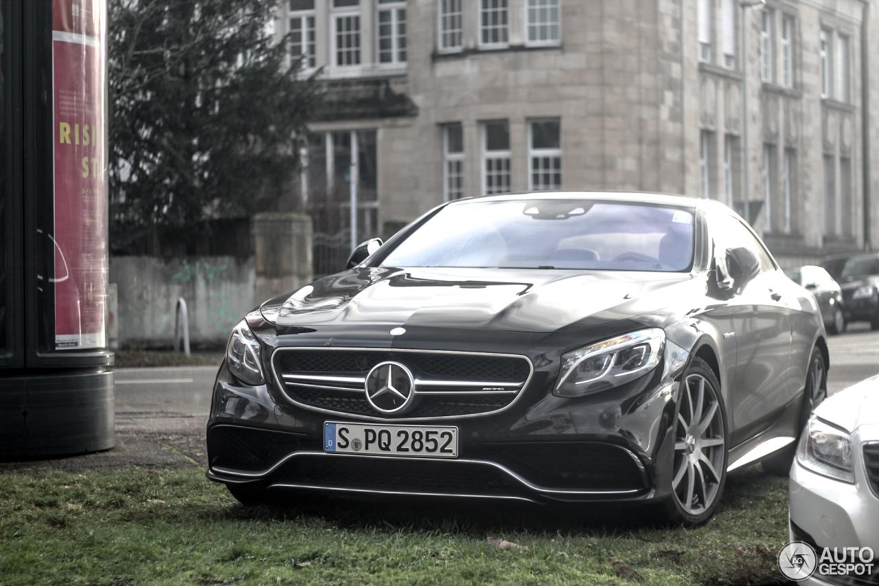 Mercedes-Benz S 63 AMG Coupé C217 8
