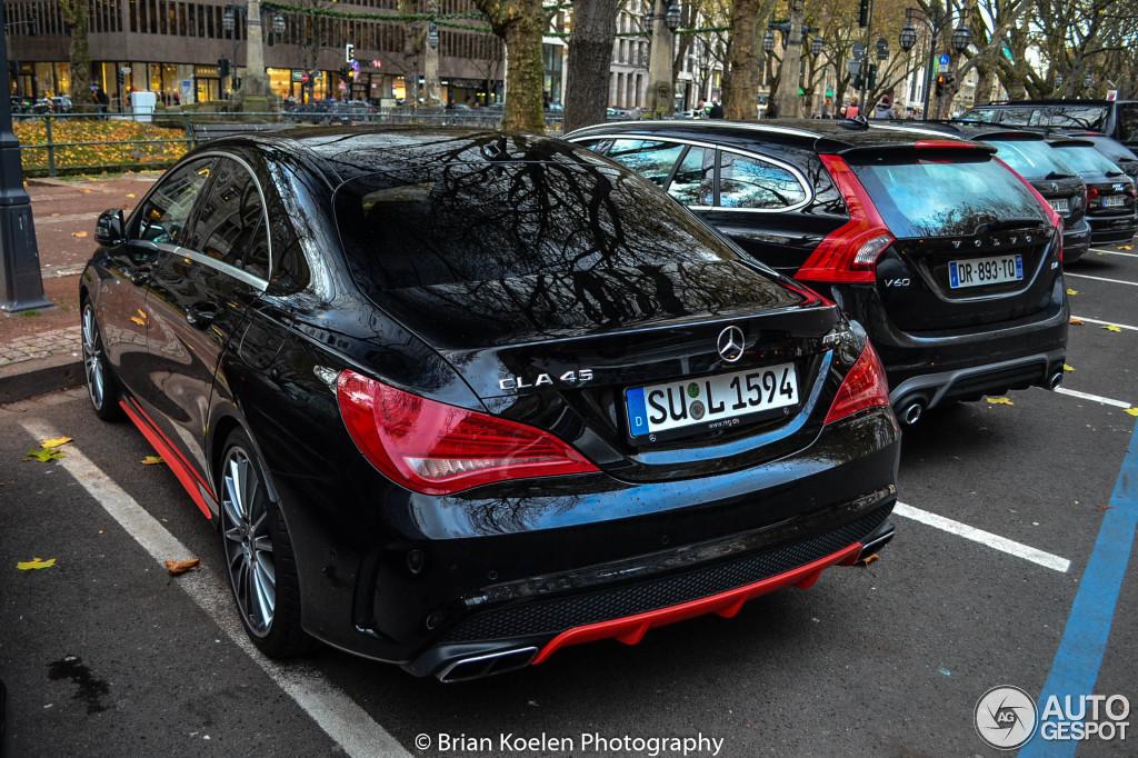 Mercedes benz cla 45 amg c117 25 january 2016 autogespot for Mercedes benz cla 250 2010