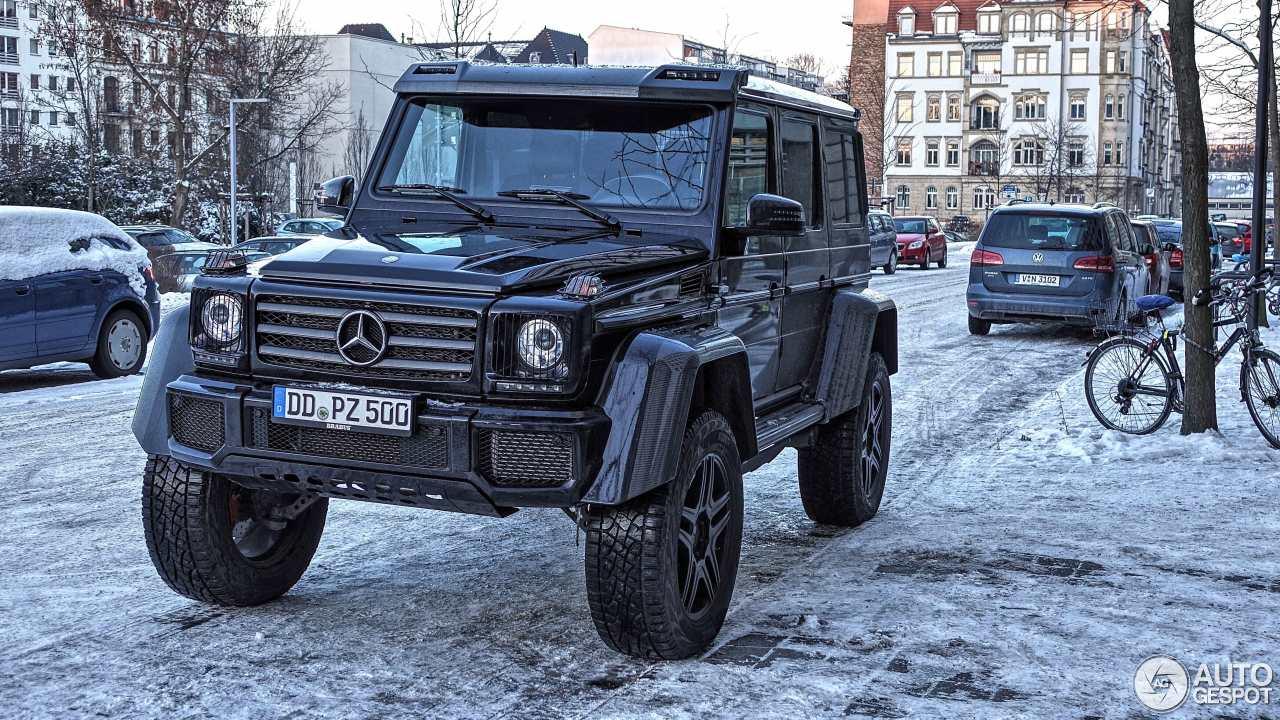 Mercedes-Benz G 500 4X4² 2