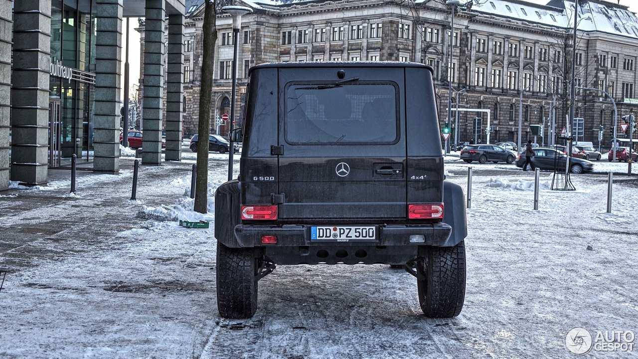 Mercedes-Benz G 500 4X4² 5
