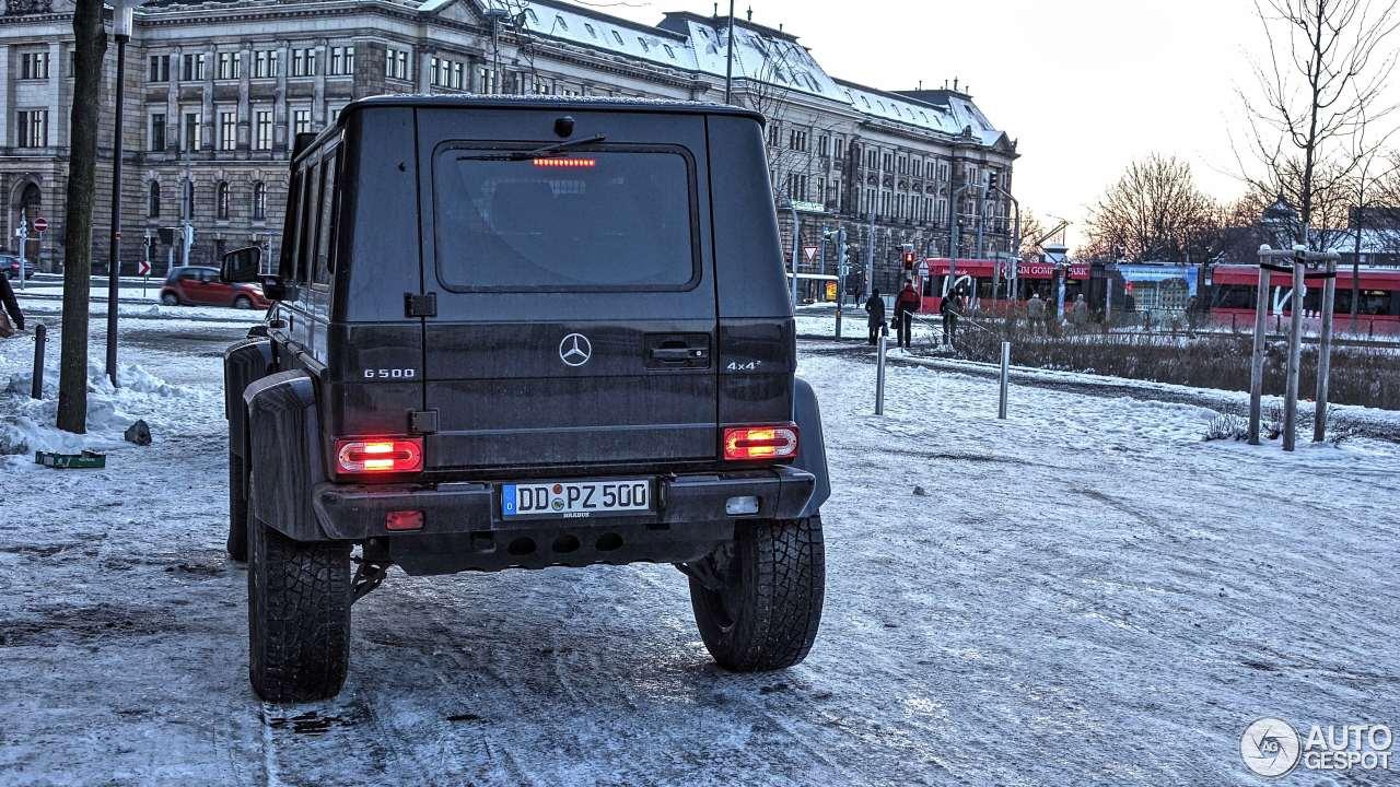 Mercedes-Benz G 500 4X4² 8