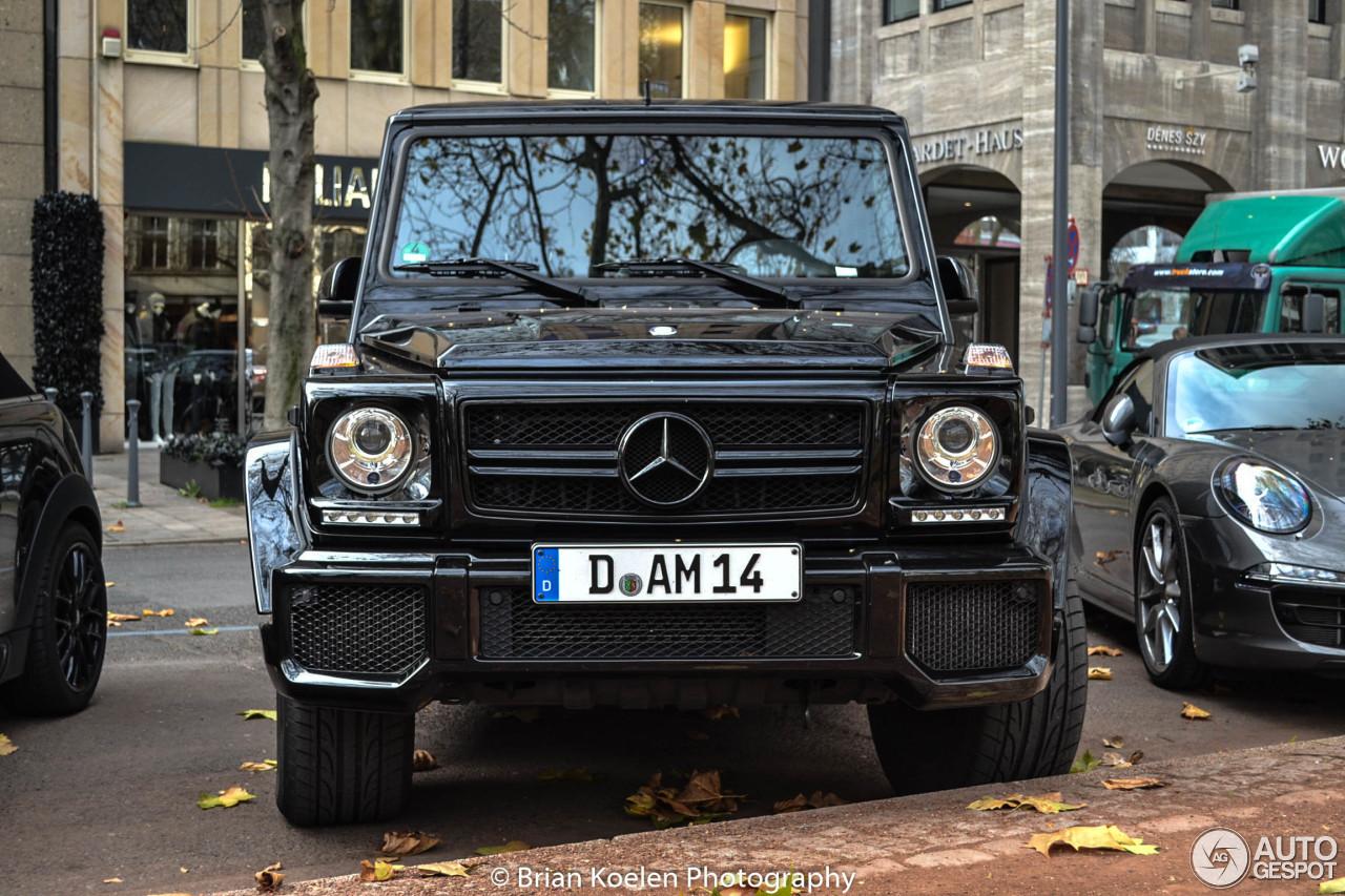 Mercedes-Benz G 63 AMG 2012 5