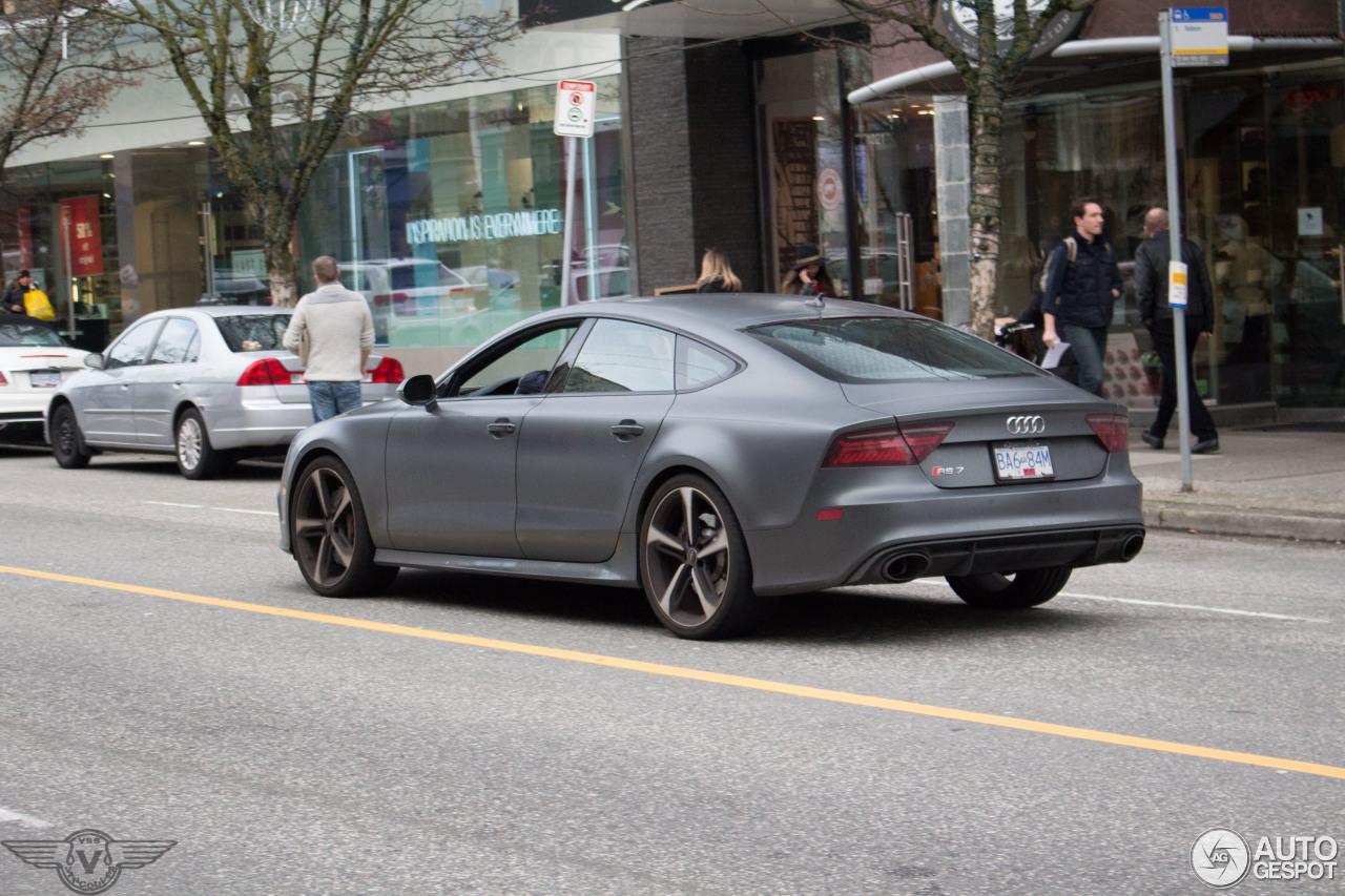 Audi RS7 Sportback 2015 7
