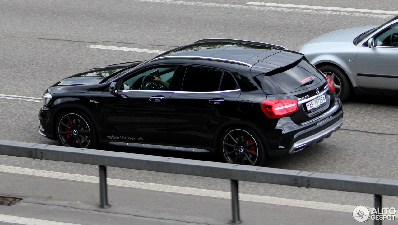 mercedes benz gla 45 amg x156 26 january 2016 autogespot. Black Bedroom Furniture Sets. Home Design Ideas