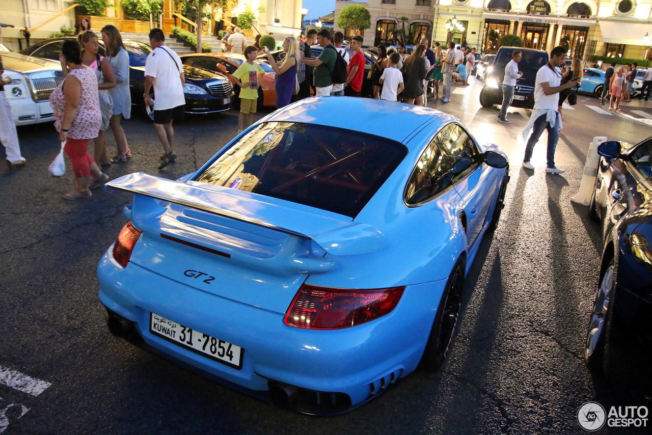Porsche 997 GT2 8