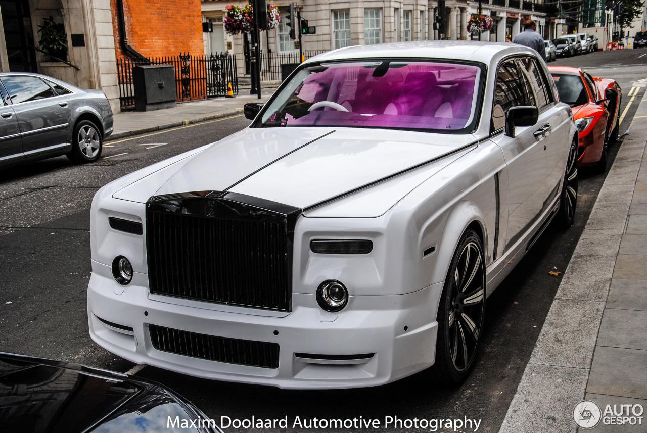 Rolls-Royce Phantom Mansory Conquistador - 26 January 2016 ...
