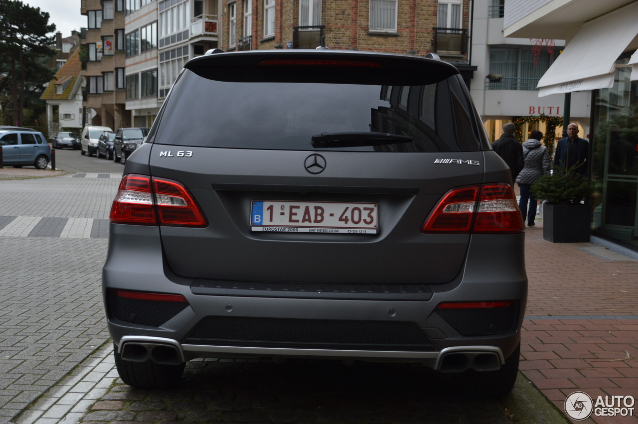 mercedes benz ml 63 amg w166 27 january 2016 autogespot. Black Bedroom Furniture Sets. Home Design Ideas