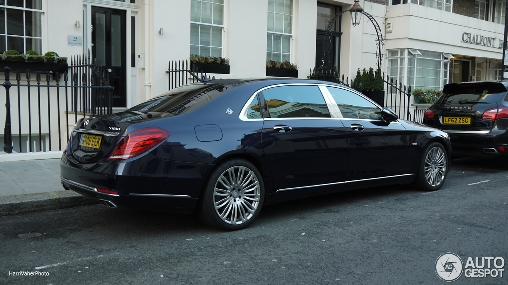 Mercedes maybach s600 27 january 2016 autogespot for 2008 mercedes benz s600 for sale