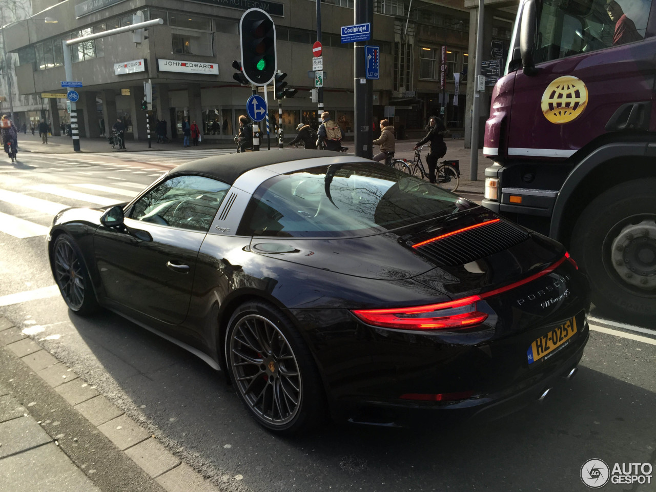porsche 991 targa 4s mkii 27 january 2016 autogespot. Black Bedroom Furniture Sets. Home Design Ideas
