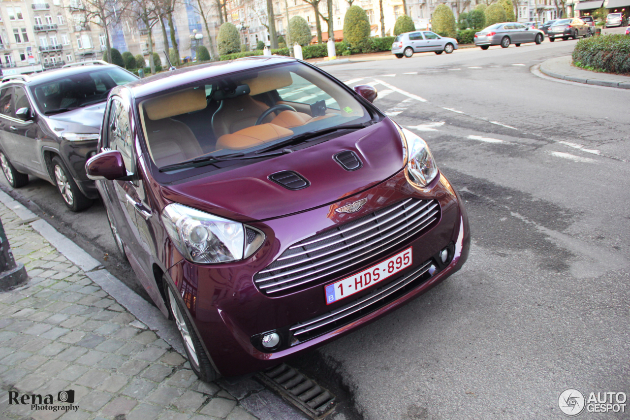 aston martin cygnet 28 januari 2016 autogespot. Black Bedroom Furniture Sets. Home Design Ideas