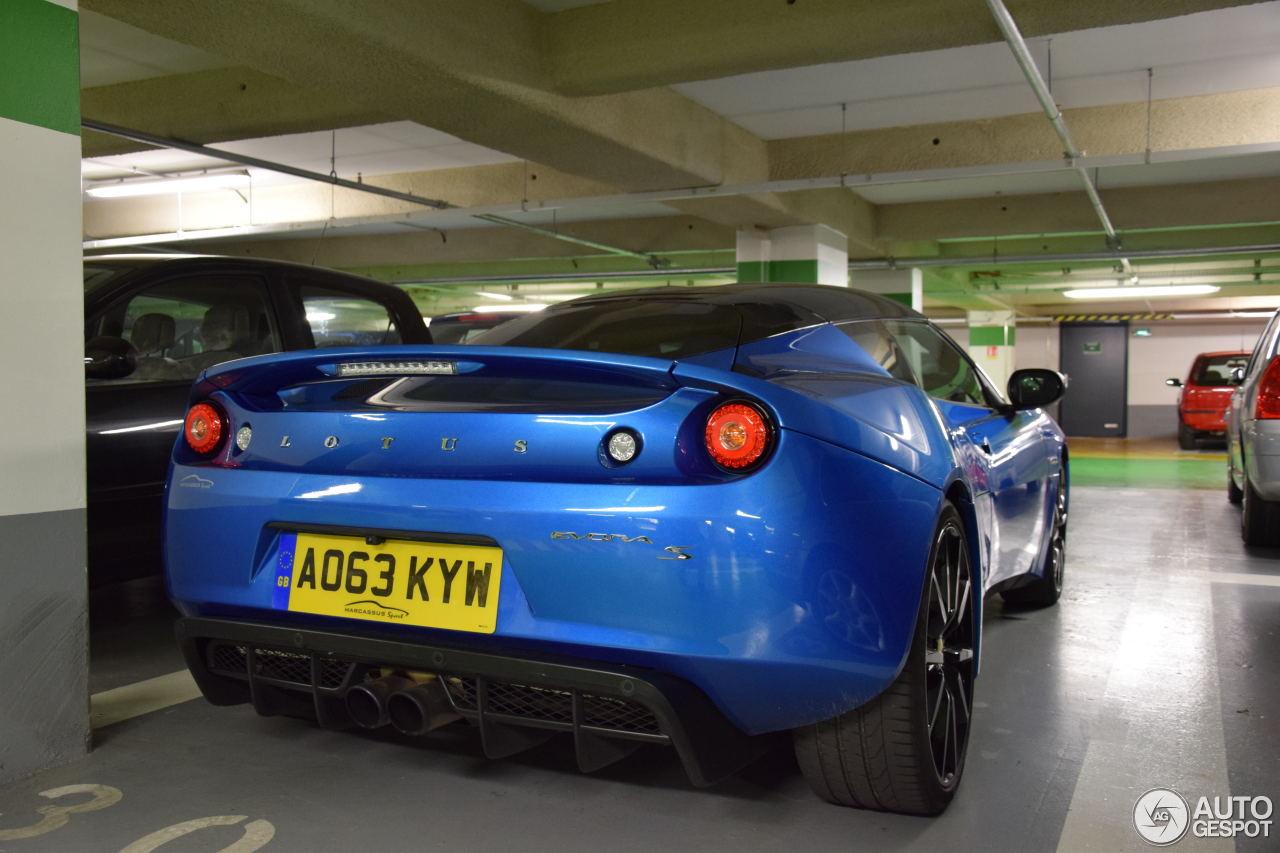 Lotus Evora S 5
