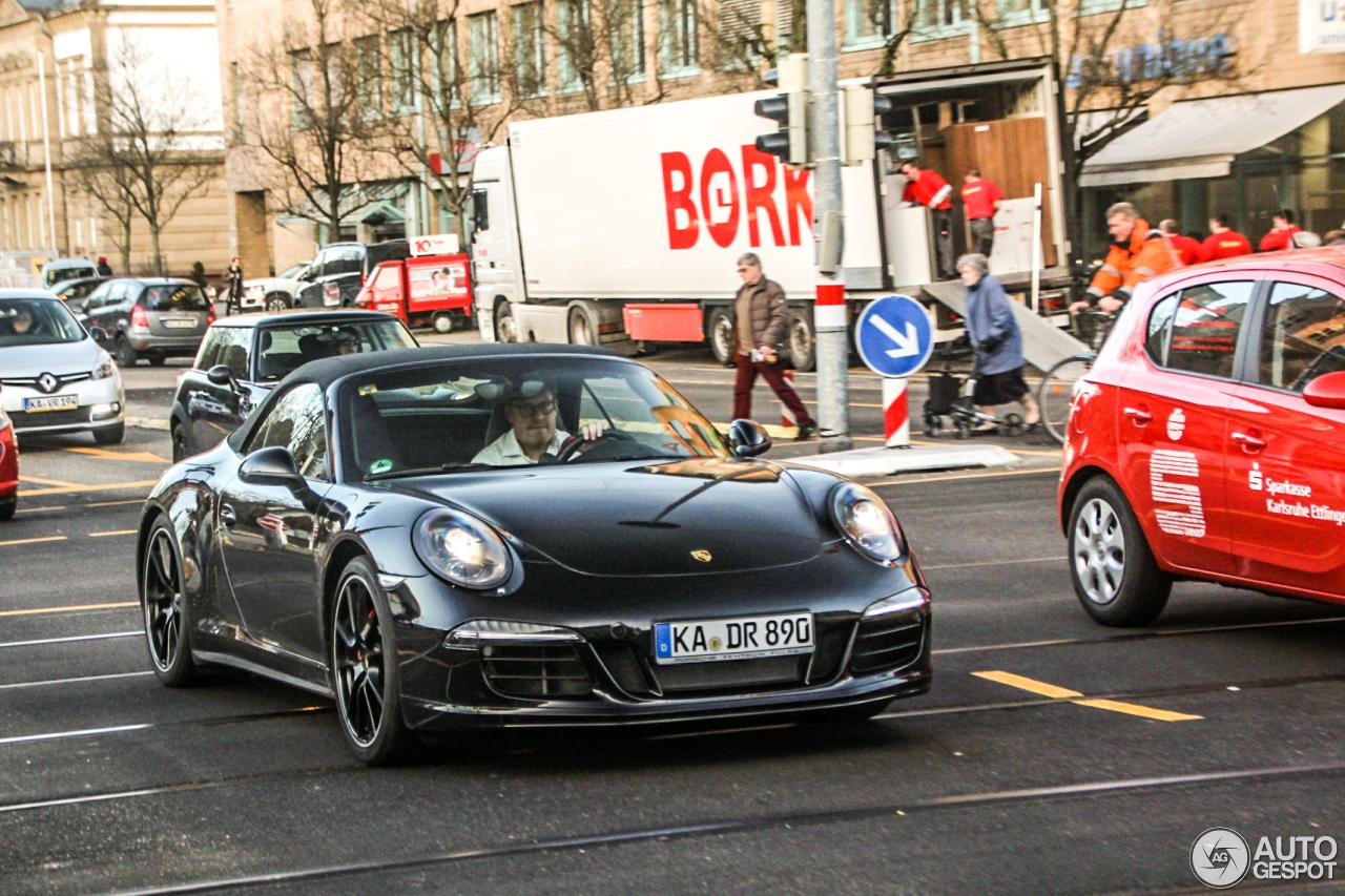 Porsche 991 Carrera 4S Cabriolet 3
