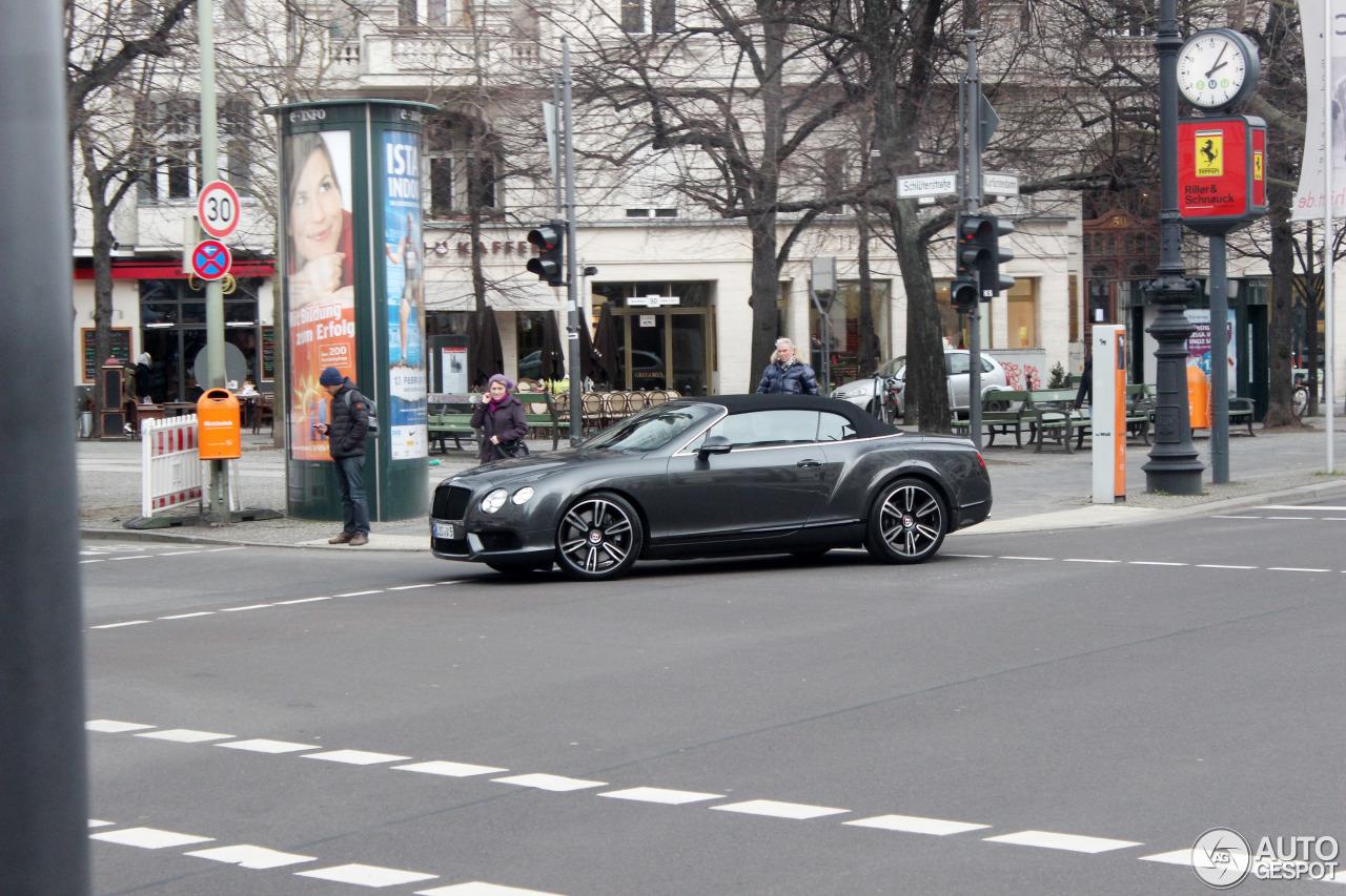 Bentley Continental GTC V8 1