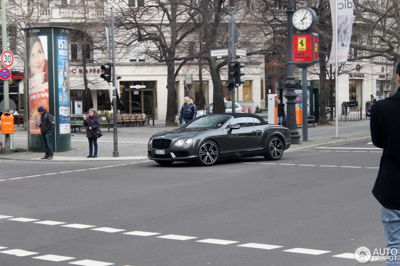 Bentley Continental GTC V8 10