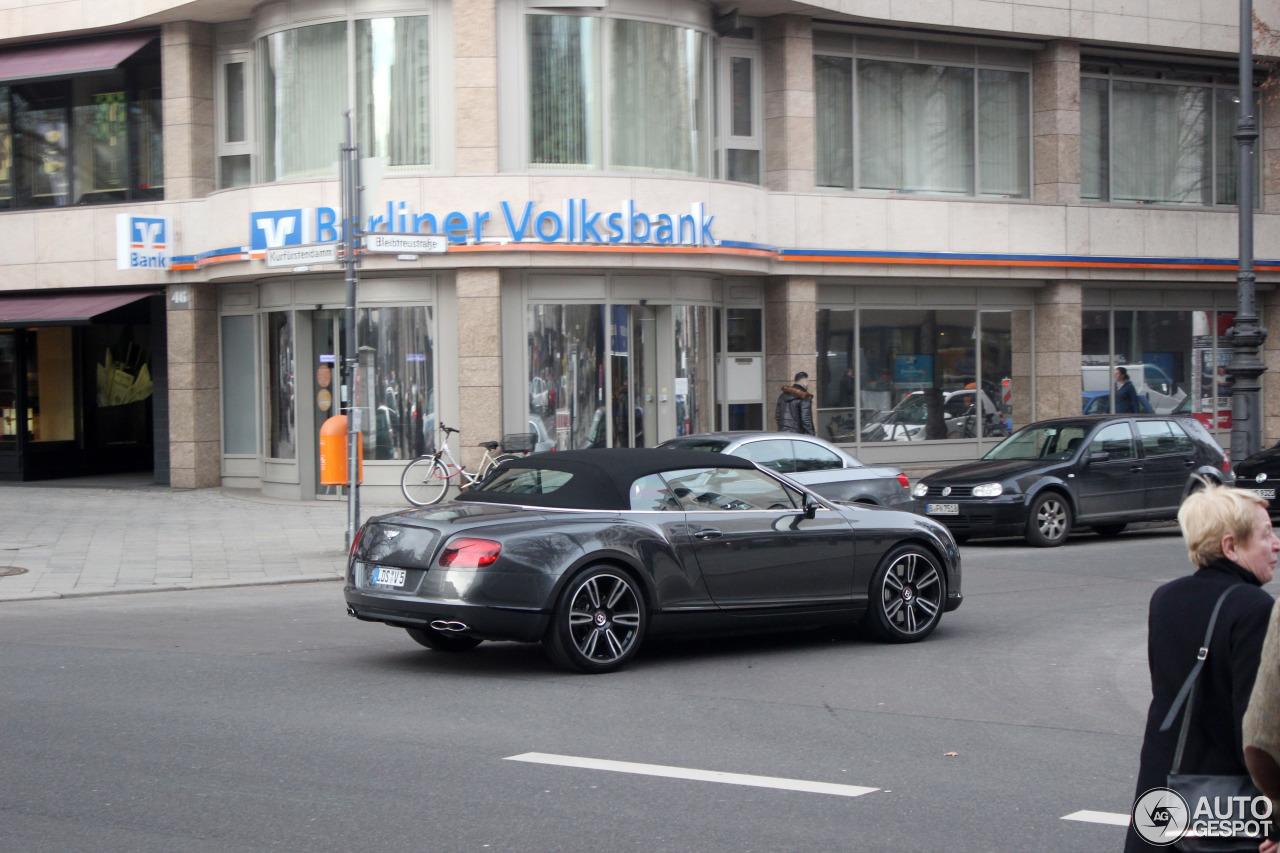 Bentley Continental GTC V8 6