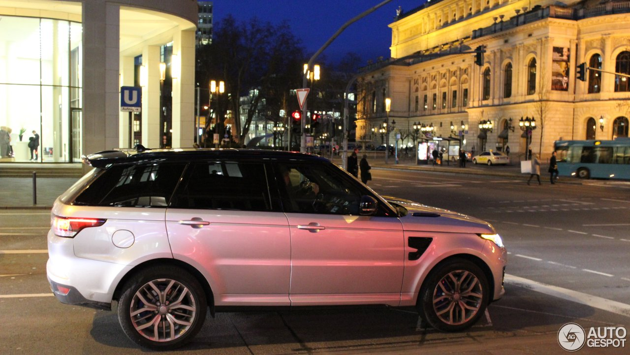 land rover range rover sport svr 29 january 2016. Black Bedroom Furniture Sets. Home Design Ideas
