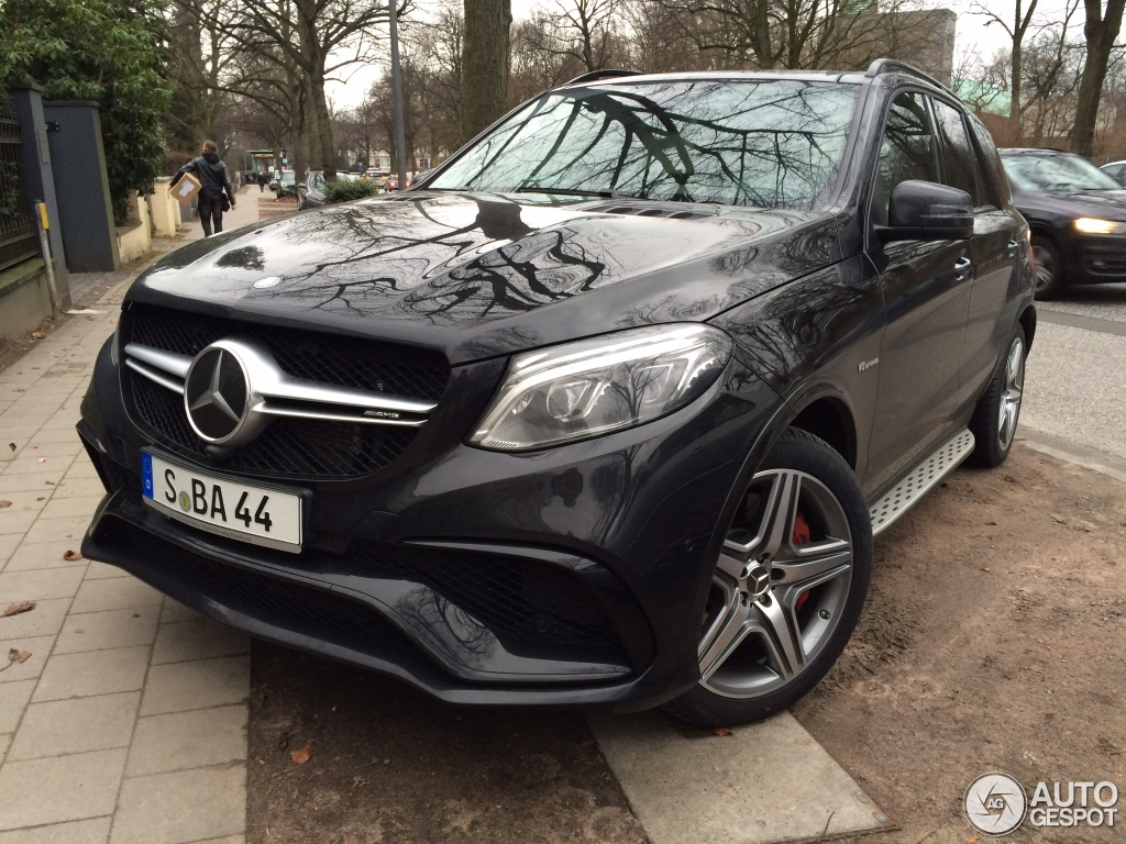 Mercedes amg gle 63 s 29 januar 2016 autogespot for Mercedes benz amg gle 63