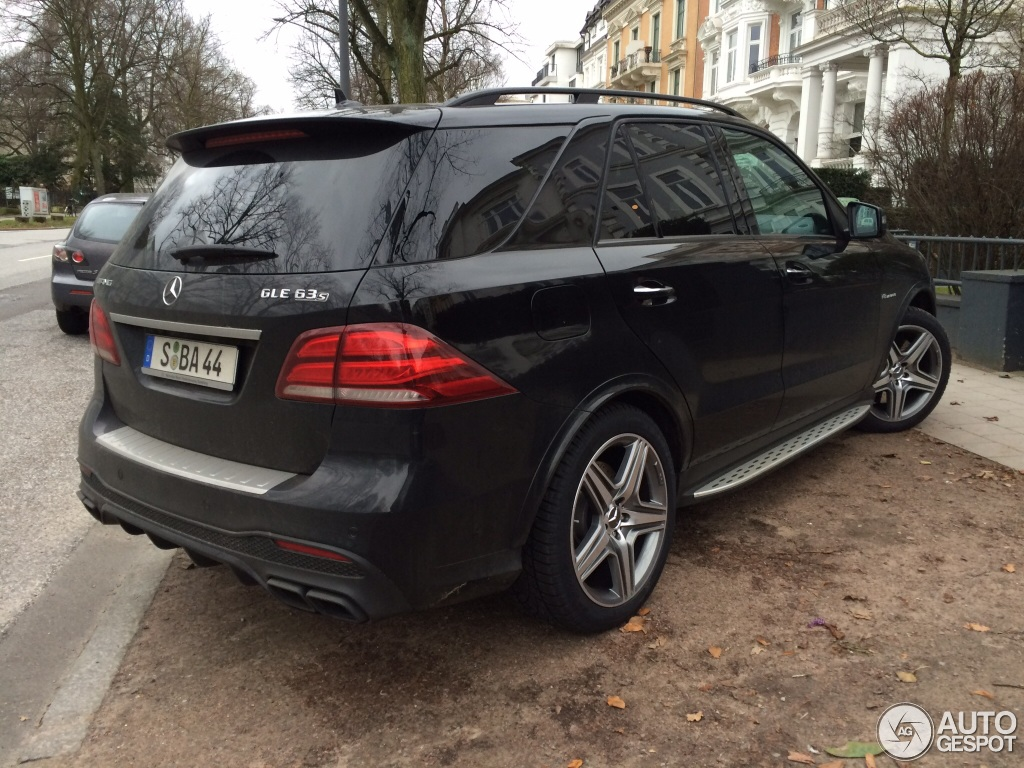 mercedes amg gle 63 s 29 january 2016 autogespot. Black Bedroom Furniture Sets. Home Design Ideas