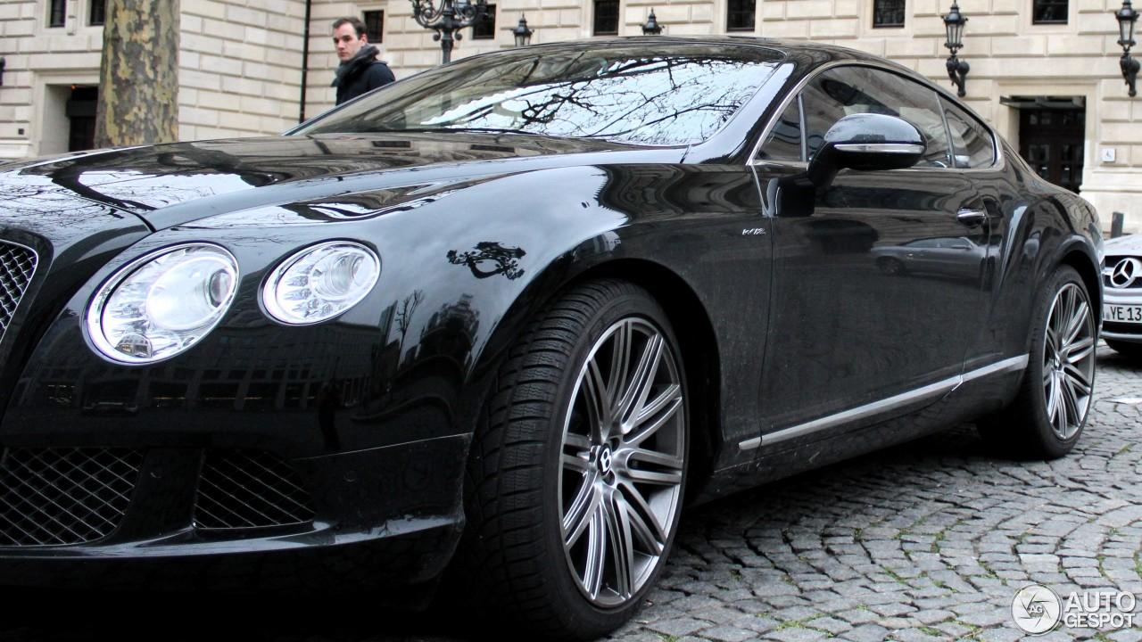 Bentley Continental GT Speed 2012 2