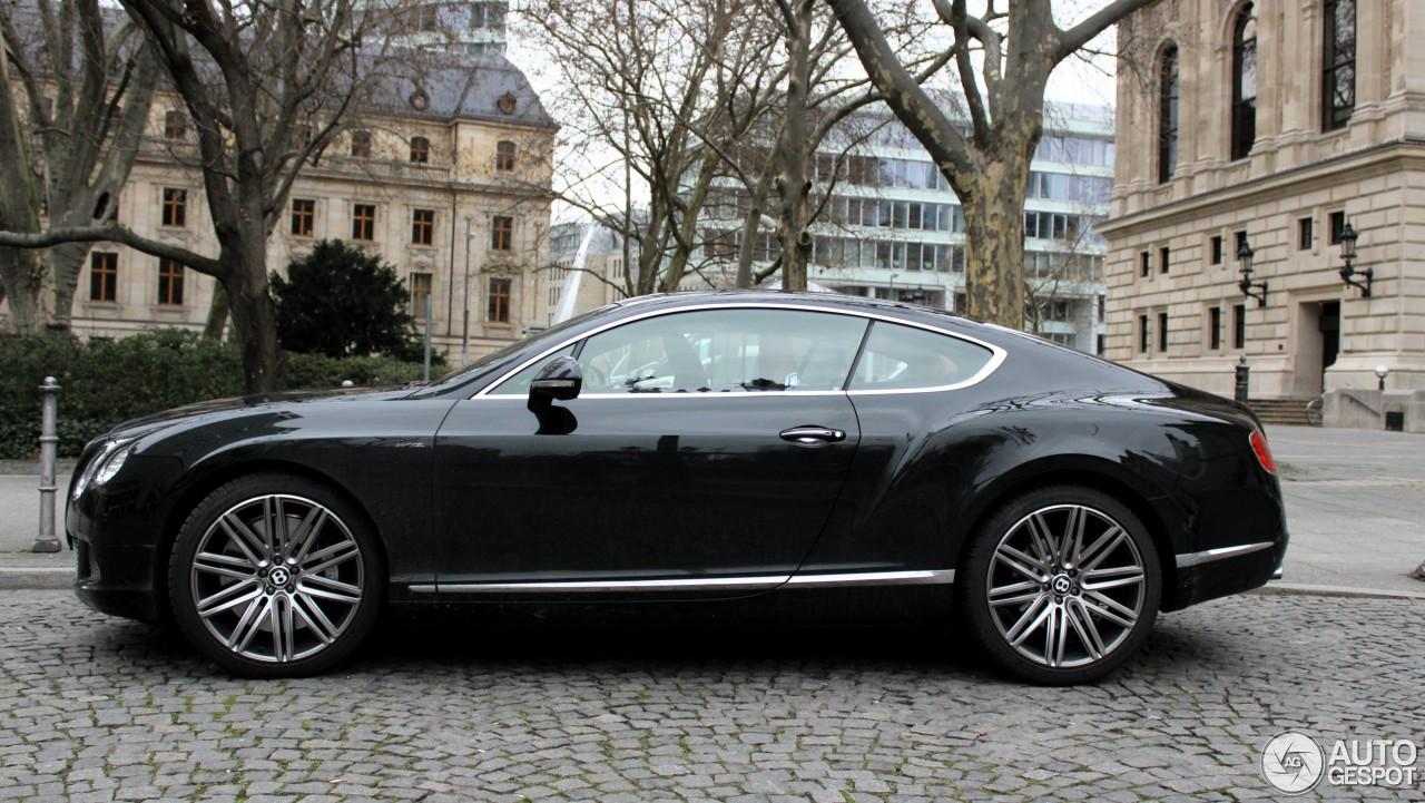 Bentley Continental GT Speed 2012 4