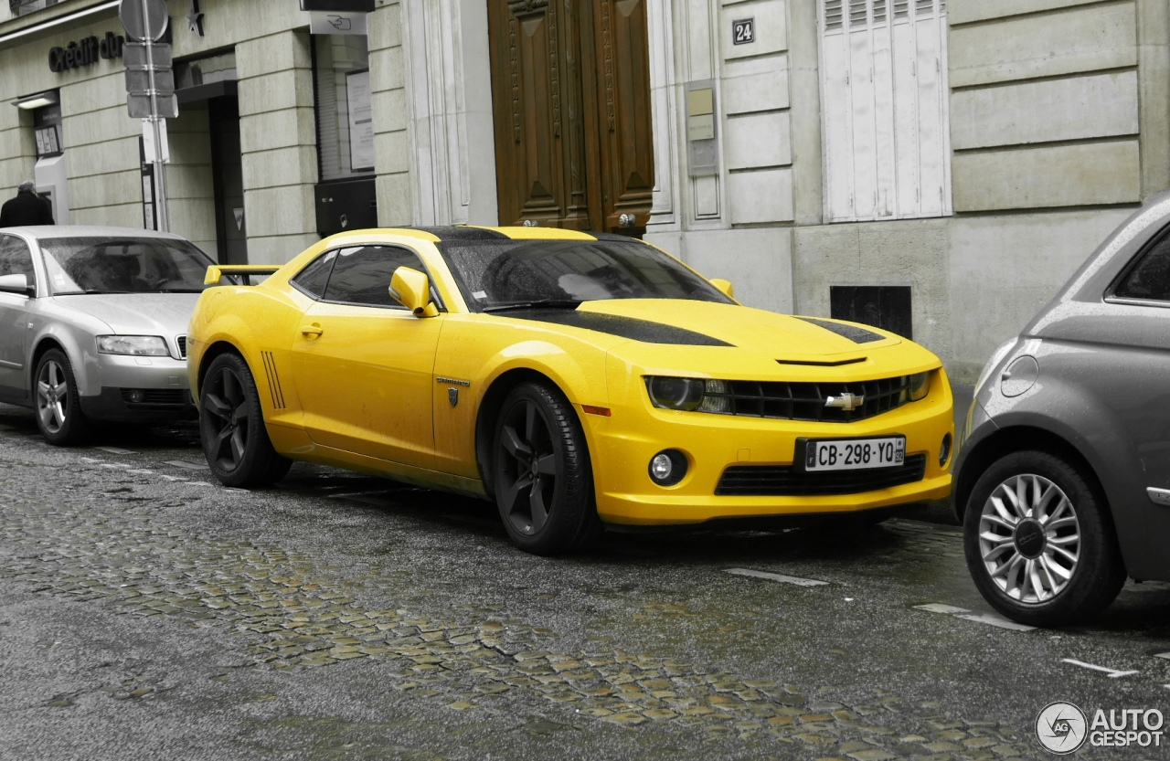chevrolet camaro ss transformers edition 2012 30 january 2016 autogespot. Black Bedroom Furniture Sets. Home Design Ideas