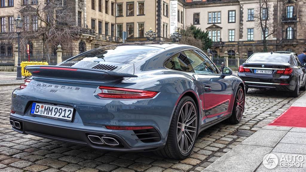 Porsche 991 Turbo Mkii 30 Januar 2016 Autogespot