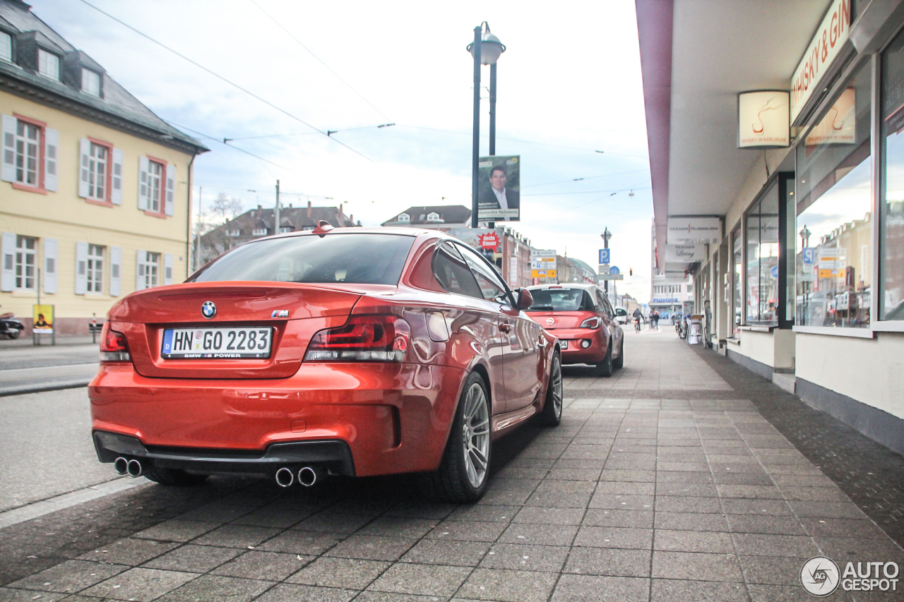 BMW 1 Series M Coupé 4