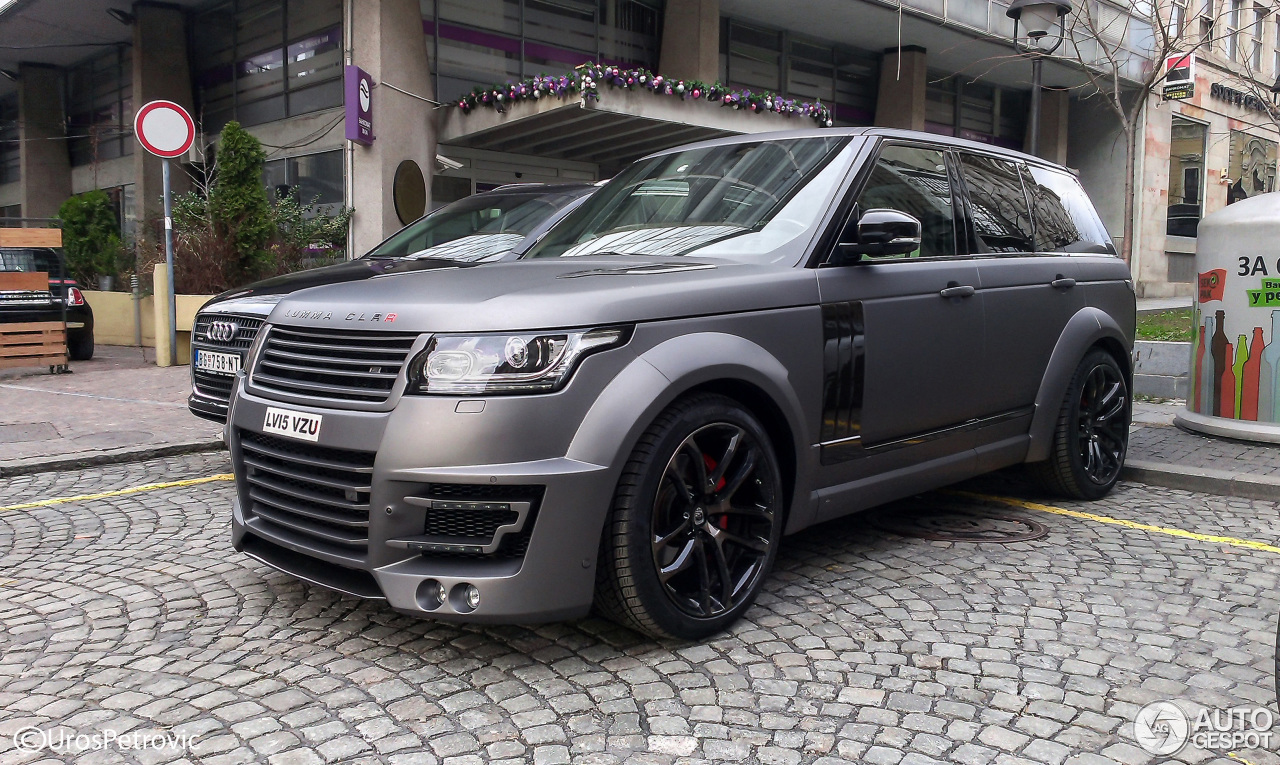 Land Rover Range Rover Lumma Clr R 31 January 2016