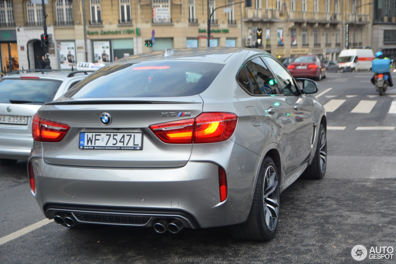 2016 Bmw X6 M Silver 200 Interior And Exterior Images