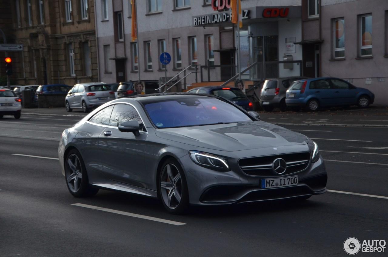 Mercedes-Benz S 63 AMG Coupé C217 4