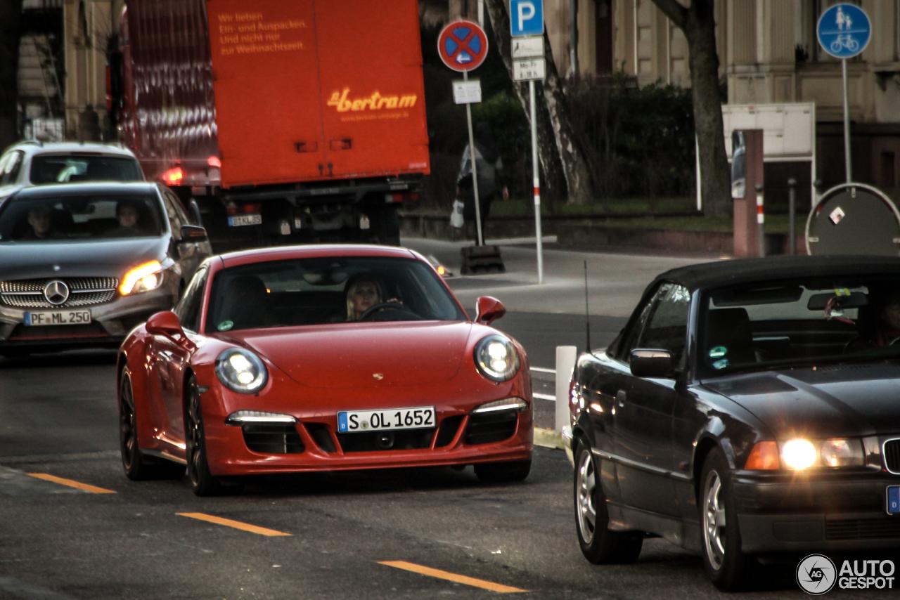 Porsche 991 Carrera GTS 1