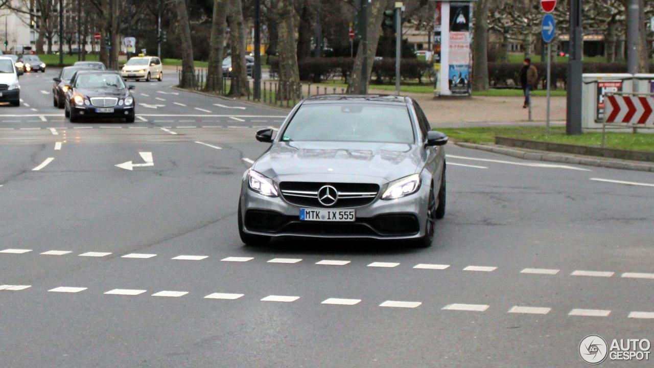 Mercedes-AMG C 63 W205 1