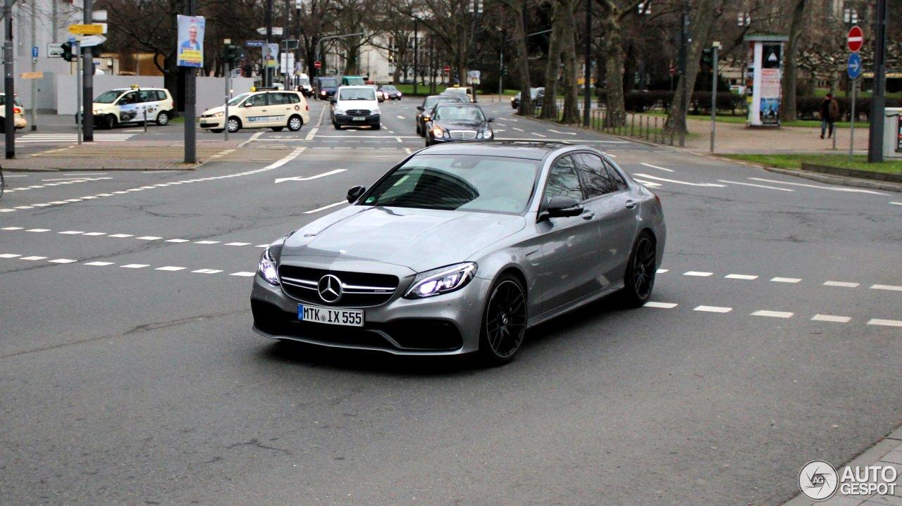 Mercedes-AMG C 63 W205 2