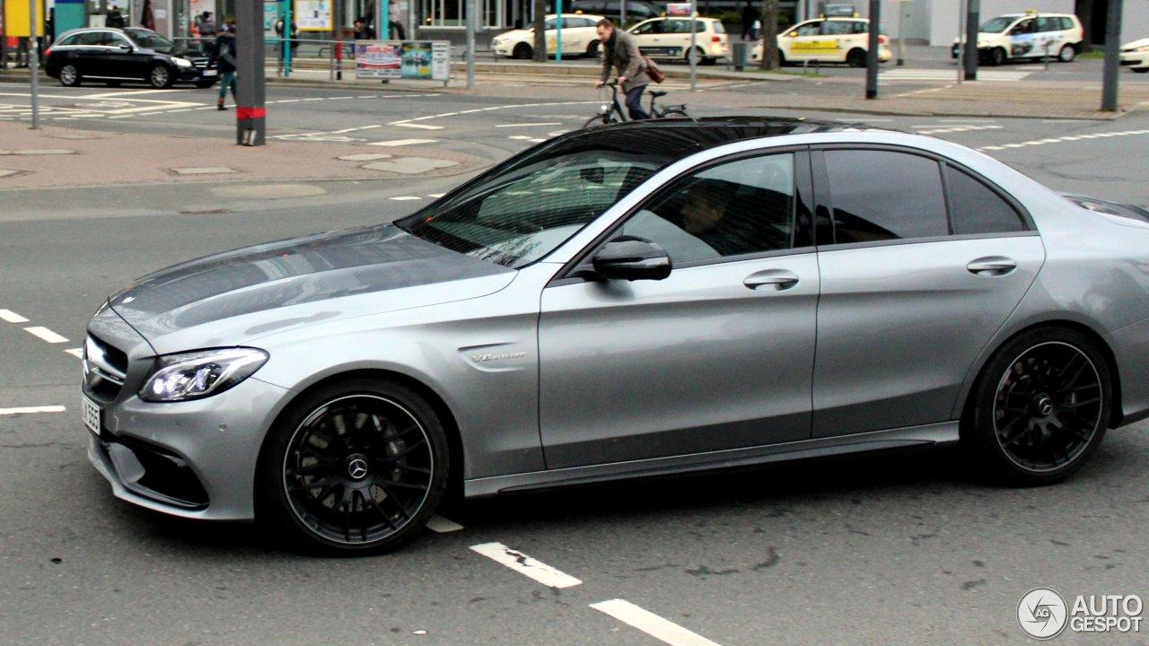 Mercedes-AMG C 63 W205 3