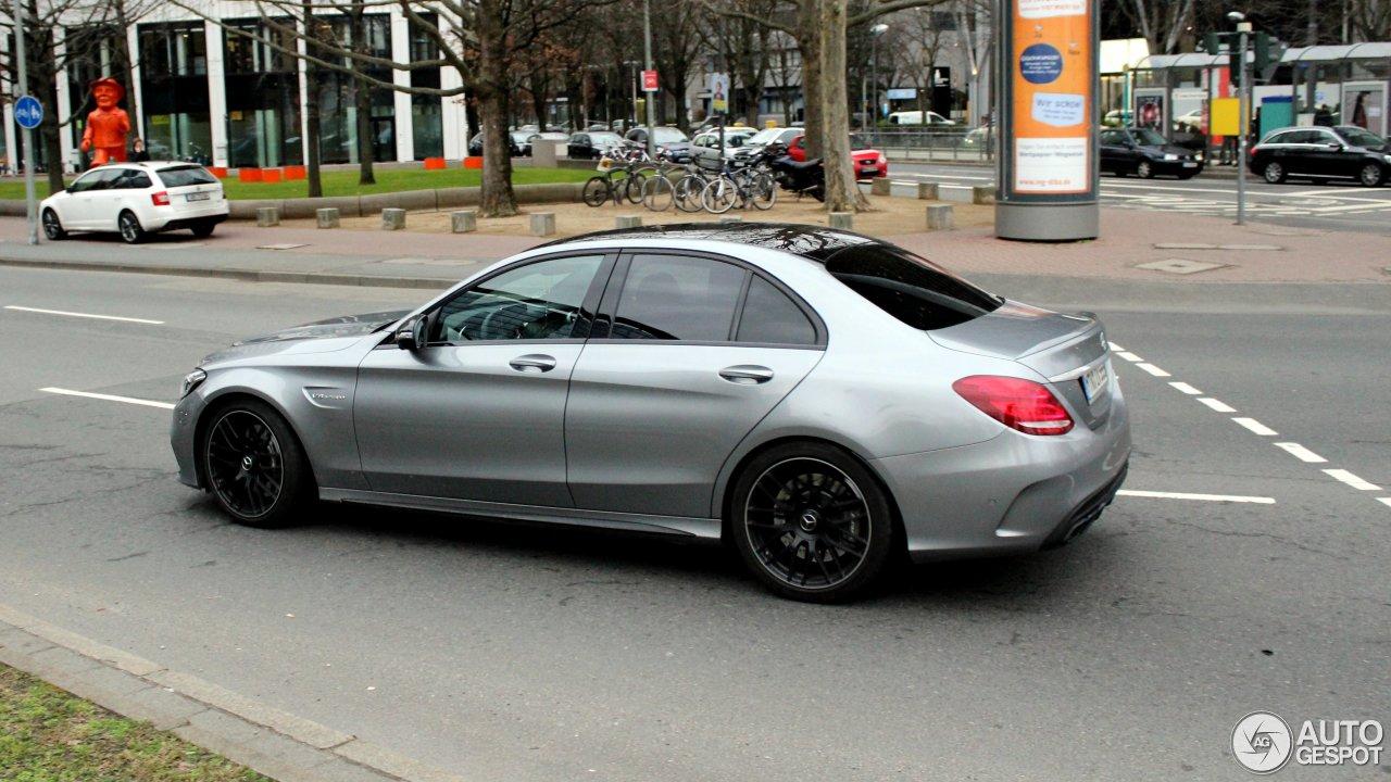 Mercedes-AMG C 63 W205 4