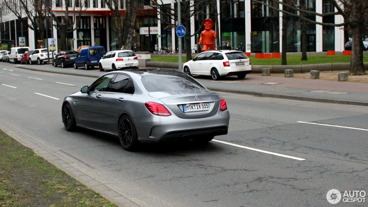 Mercedes-AMG C 63 W205 5