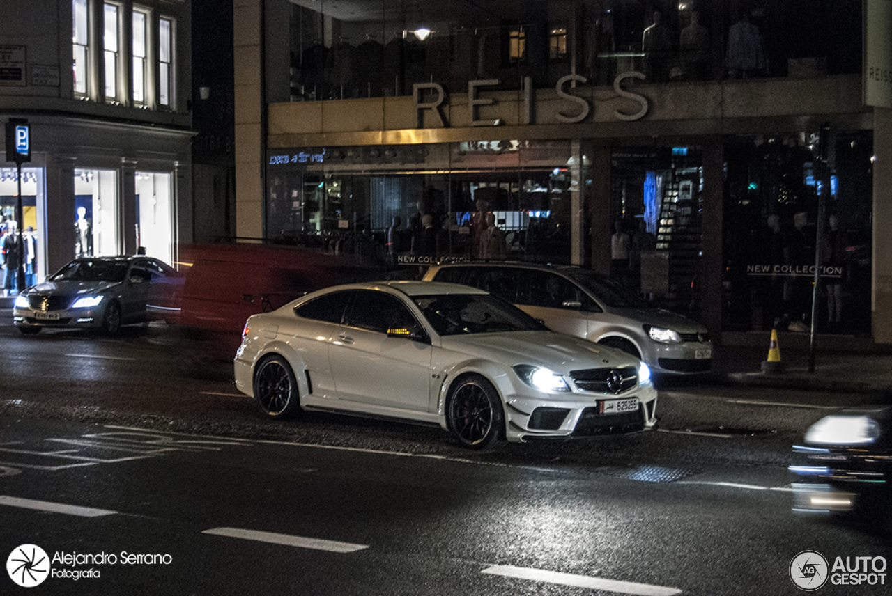 Mercedes benz c 63 amg coup black series 2 february for Mercedes benz 5 series