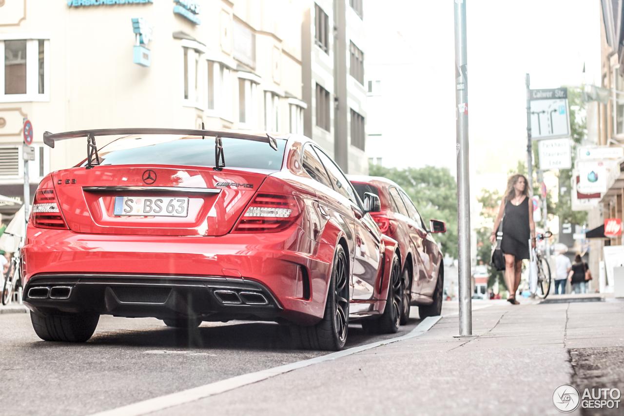 Mercedes-Benz C 63 AMG Coupé Black Series 3