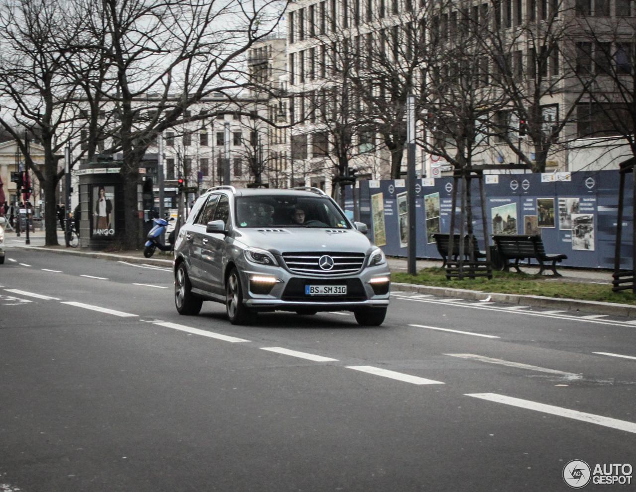 Mercedes-Benz ML 63 AMG W166 2